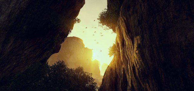the climb oculus rift beautiful valley