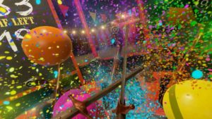 nvidia funhouse 3 VR image of balloons image description